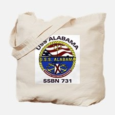 USS Alabama SSBN 731 Tote Bag