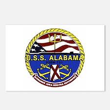 USS Alabama SSBN 731 Postcards (Package of 8)