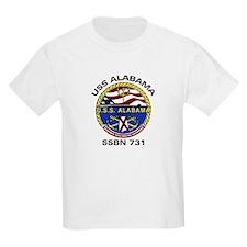 USS Alabama SSBN 731 Kids T-Shirt