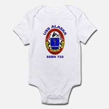 USS Alaska SSBN 732 Infant Creeper
