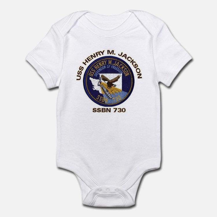 USS Henry M Jackson SSBN 730 Infant Creeper