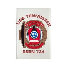 USS Tennessee SSBN 734 Rectangle Magnet