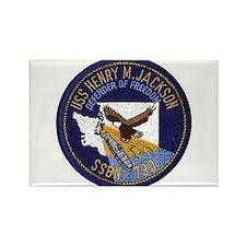 USS Henry M Jackson SSBN 730 Rectangle Magnet