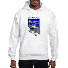 USS Nevada SSBN 733 Hoodie