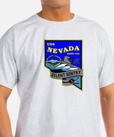 USS Nevada SSBN 733 T-Shirt