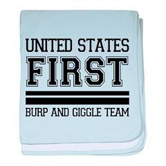 First Birthday Infant Blanket
