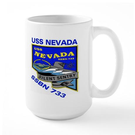 USS Nevada SSBN 733 Large Mug