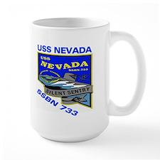 USS Nevada SSBN 733 Mug