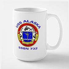 USS Alaska SSBN 732 Large Mug