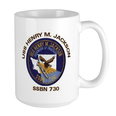 USS Henry M Jackson SSBN 730 Large Mug