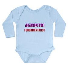 Agnostic Fundamentalist Long Sleeve Infant Bodysui