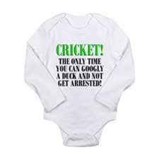 Cricket Onesie Romper Suit