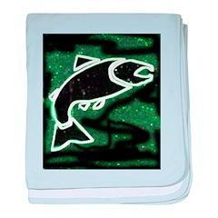 Salmon Infant Blanket