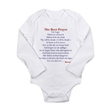 Beer Prayer Long Sleeve Infant Bodysuit