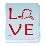 Love Alaska Infant Blanket