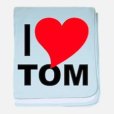 I Love Tom Infant Blanket