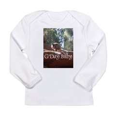 Black Footed Wallaby Long Sleeve Infant T-Shirt