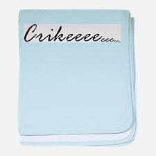 Steve Irwin, Crikeeeeeeeeee Infant Blanket