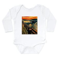 Scream 30th Long Sleeve Infant Bodysuit