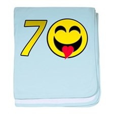 70th Birthday Infant Blanket