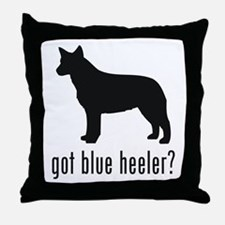 Blue Heeler Throw Pillow