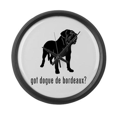 Dogue de Bordeaux Large Wall Clock