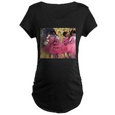 Degas Ballerinas in Red T-Shirt