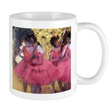 Degas Ballerinas in Red Mug