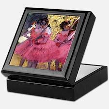 Degas Ballerinas in Red Keepsake Box