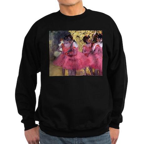 Degas Ballerinas in Red Sweatshirt (dark)
