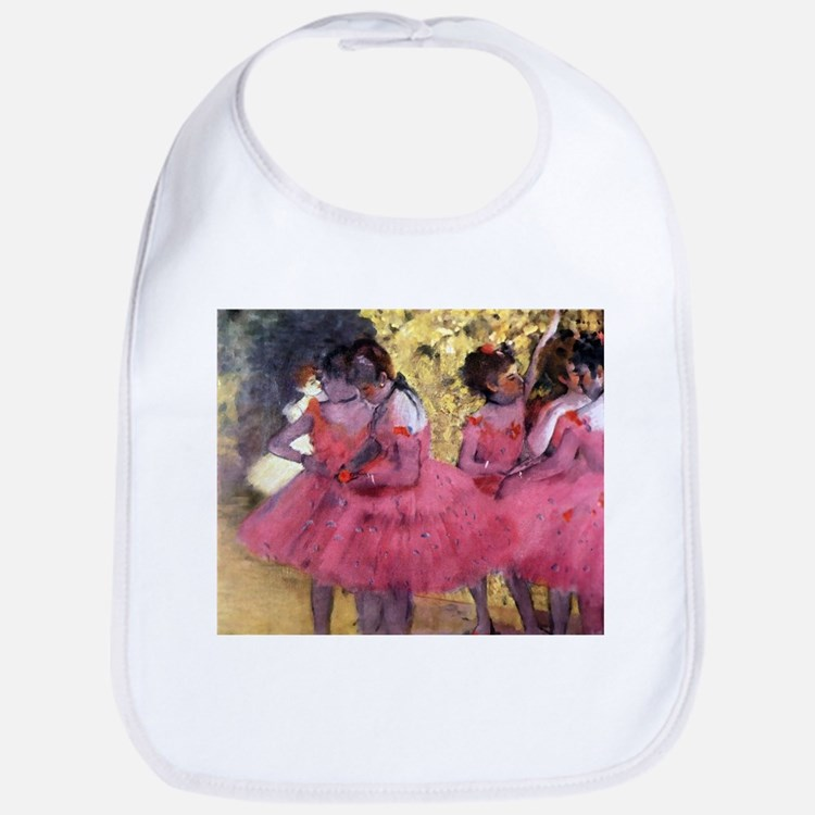 Degas Ballerinas in Red Bib