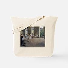 Degas Ballet Class Tote Bag