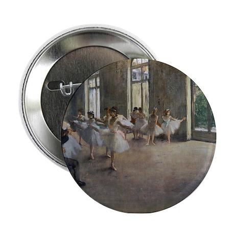 """Degas Ballet Class 2.25"""" Button"""