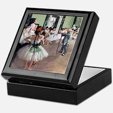 Degas Ballet Class Keepsake Box