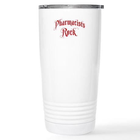 Pharmacist Rock Stainless Steel Travel Mug