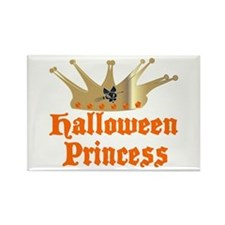Halloween Princess Rectangle Magnet