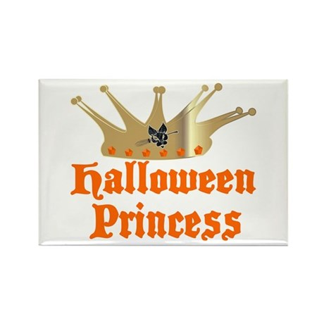 Halloween Princess Rectangle Magnet