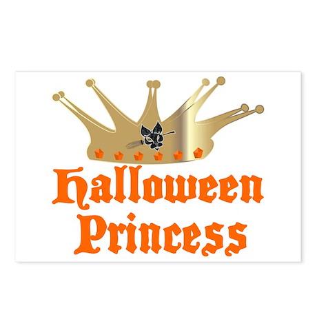 Halloween Princess Postcards (Package of 8)