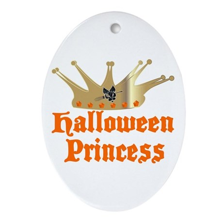 Halloween Princess Ornament (Oval)