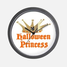 Halloween Princess Wall Clock