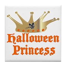 Halloween Princess Tile Coaster