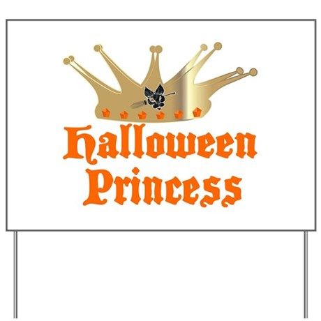 Halloween Princess Yard Sign