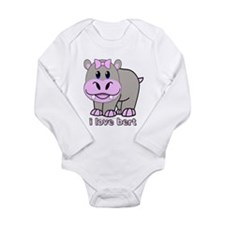 Bert the Hippo Onesie Romper Suit