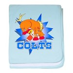 Colts Football Infant Blanket