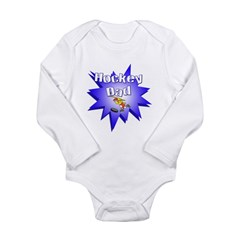Hocky Dad Long Sleeve Infant Bodysuit