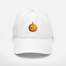 Pumpkin Jack-O-Lantern Hallow Baseball Baseball Cap