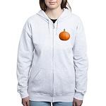 Pumpkin for Halloween Women's Zip Hoodie