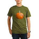 Pumpkin for Halloween Organic Men's T-Shirt (dark)