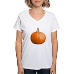 Pumpkin for Halloween Women's V-Neck T-Shirt