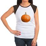 Pumpkin for Halloween Women's Cap Sleeve T-Shirt